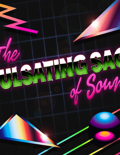 The Pulsating Sac o Sound 80s 3D